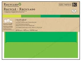 card & envelopes: K&Company Card & Envelopes Remake 5x7 Grass Greens