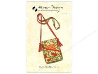 Lila Tueller Designs Tote Bags / Purses Patterns: Atkinson Designs Tag Along Tote Pattern