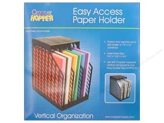 Craft Organizers Tote: Cropper Hopper Vertical Organizers Easy Access Paper Holder
