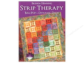 Bear Paw Productions Fat Quarter / Jelly Roll / Charm / Cake Books: Bear Paw Productions Strip Therapy Bali Pop - Dynamic Duos Book by Brenda Henning