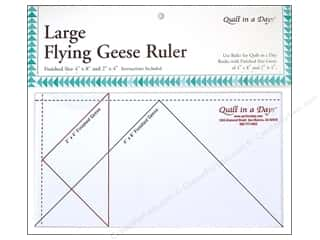 Quilt in a Day: Quilt In A Day Rulers Large Flying Geese