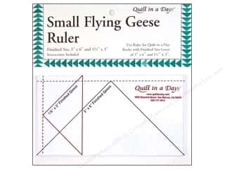 Father's Day Sewing & Quilting: Quilt In A Day Rulers Flying Geese