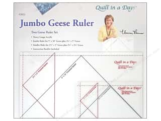 Father's Day Sewing & Quilting: Quilt In A Day Rulers Jumbo Geese Set