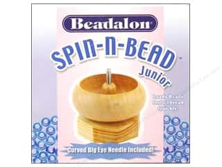 Jewelry Making Supplies Gifts & Giftwrap: Beadalon Spin-N-Bead Junior Bead Loader