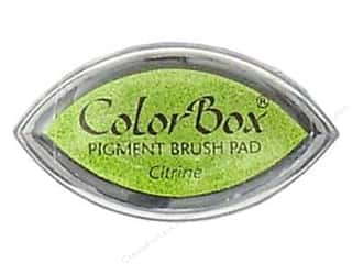 Clearsnap ColorBox Pigment Inkpad Cat's Eye: ColorBox Pigment Inkpad Cat's Eye Citrine