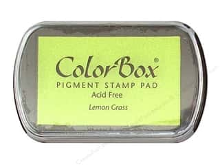 ColorBox Pigment Ink Pad Full Size Lemon Grass