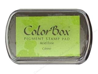 ColorBox Pigment Ink Pad Full Size Citrine