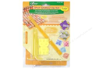 Quilting Templates / Sewing Templates: Clover Puff Quilting Clip Set Large