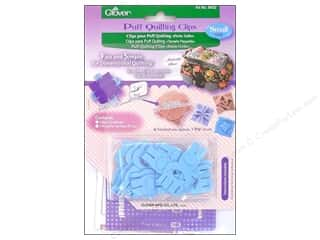 Quilting Templates / Sewing Templates: Clover Puff Quilting Clips Small