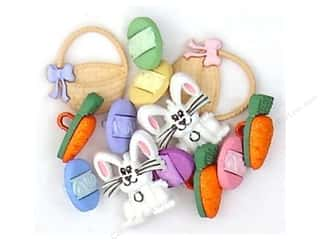 Scrapbooking Easter: Jesse James Dress It Up Embellishments Easter Collection Easter Basket