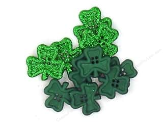 Leatherwork St. Patrick's Day: Jesse James Dress It Up Embellishments St Patrick's Day Collection Irish Charm
