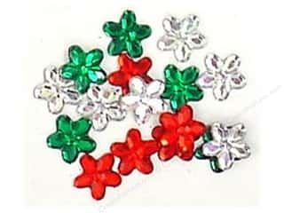 Jesse James Embellishments Holiday Petals 10mm