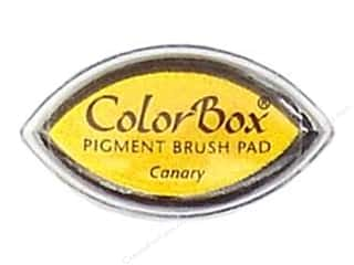 Clearsnap ColorBox Pigment Inkpad Cat's Eye: ColorBox Pigment Inkpad Cat's Eye Canary