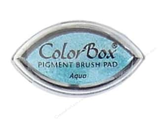 Clearsnap ColorBox Pigment Inkpad Cat's Eye: ColorBox Pigment Inkpad Cat's Eye Aqua