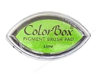 Clearsnap ColorBox Pigment Inkpad Cat's Eye: ColorBox Pigment Inkpad Cat's Eye Lime
