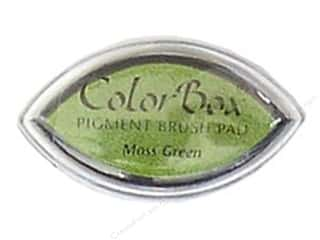 Moss $2 - $3: ColorBox Pigment Inkpad Cat's Eye Moss Green