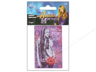 Clearance Blumenthal Favorite Findings: Wrights Applique Iron On Disney Hannah Montana