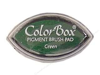 Clearsnap ColorBox Pigment Inkpad Cat's Eye: ColorBox Pigment Inkpad Cat's Eye Green
