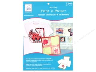 June Tailor 3 Sheets: June Tailor Print 'n Press Iron-On Inkjet Transfer Sheets 3 pc.