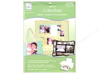 June Tailor Inkjet Fabric Sheet Colorfast Wht10pc
