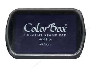 Rubber Stamping ColorBox Full Size Pigment Ink Pads: ColorBox Pigment Inkpad Full Size Midnight