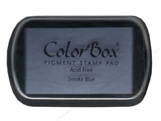 ColorBox Pigment Ink Pad Full Size Smoke Blue