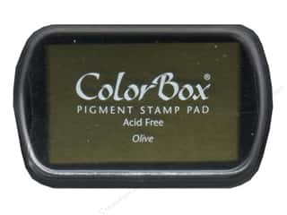 ColorBox Pigment Ink Pad Full Size Olive