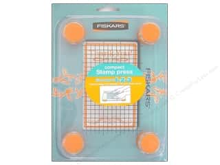 "Clearance Blumenthal Favorite Findings: Fiskars Stamp Press Compact 3""x5"""