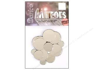 Darice Mirrors Round 1/2&quot;-1&quot; Assorted 25pc