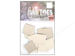 Mirrors Darice Mirrors: Darice Mirrors Big Value Square 1 in. 25 pc.