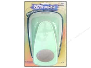 Clearance Uchida Tri-Corner 3 in 1 Punch: Uchida Clever Lever Extra Giga Craft Punch 3 1/2 in. Oval