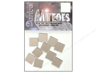Darice Mirrors Square .5&quot; 10pc (3 packages)