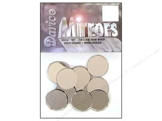 Darice $3 - $4: Darice Mirrors Round 3/4 in. 10 pc. (3 packages)