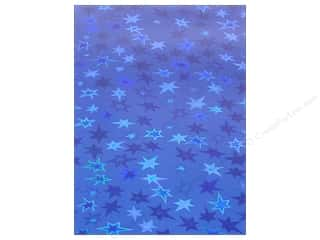 "Grafix Funky Film 9""x 12"" 12pc Dark Blue Stars"