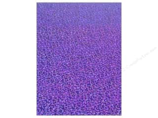 Grafix Funky Film 9&quot;x 12&quot; 12pc Grape Sequins