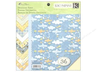 K & Company Height: K&Company Paper Pad 8.5x8.5 Double Sided Itsy Bitsy Boy Designer