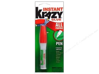 wood glue: Elmer's Krazy Glue Carded 2 gm Pen