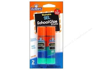Elmer's Blue: Elmer's Glue Stick Extra Strength School Gel Twin Pack