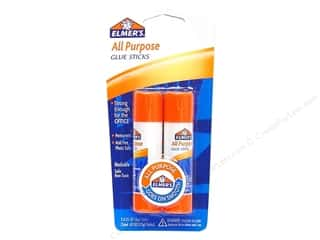 elmers glue stick: Elmer's Glue-All Stick .21 oz Twin Pack