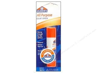 elmers glue stick: Elmer's Glue Stick All-Purpose .21 oz Carded