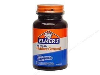 Elmer's Rubber Cement No-Wrinkle 4 oz