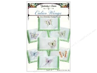 Yesterday's Charm $7 - $15: Yesterday's Charm Calico Wings Pattern