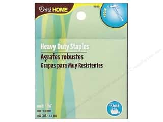 "Dritz Home Heavy Duty Staples 7/16"" 1000pc"