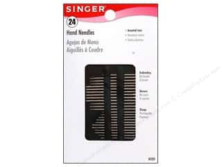 Singer Home Decor: Singer Notions Hand Needle Assorted Size 24pc