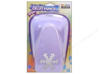 Uchida Lever Punch Giga Snowflake