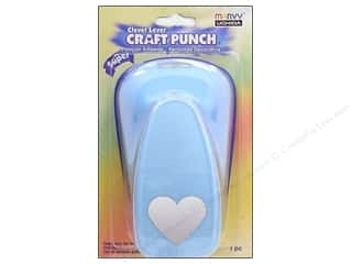 Uchida Valentine's Day: Uchida Clever Lever Super Jumbo Craft Punch 1 7/8 in. Heart