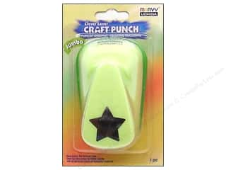Uchida: Uchida Clever Lever Jumbo Craft Punch 7/8 in. Star