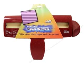 Straight Stitch Rubber Stamping: Uchida Corru-gator Paper Crimper 8 1/2 in. Straight