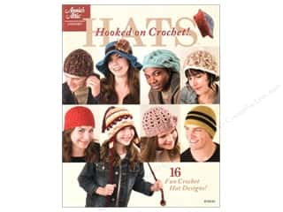 Annie's Attic Hooked On Crochet Hats Book