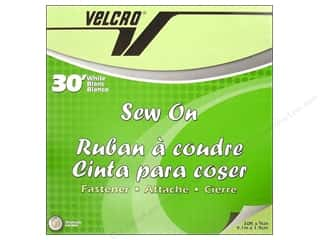 Brand-tastic Sale 3L: Velcro Sew On Tape 3/4 in. x 30 ft. White (30 feet)